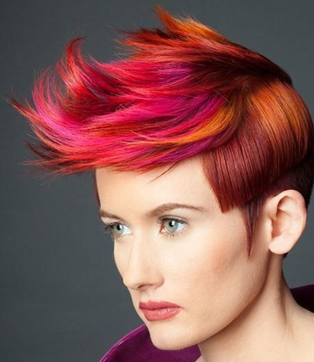 amazing color, makes me want to cut my hair again