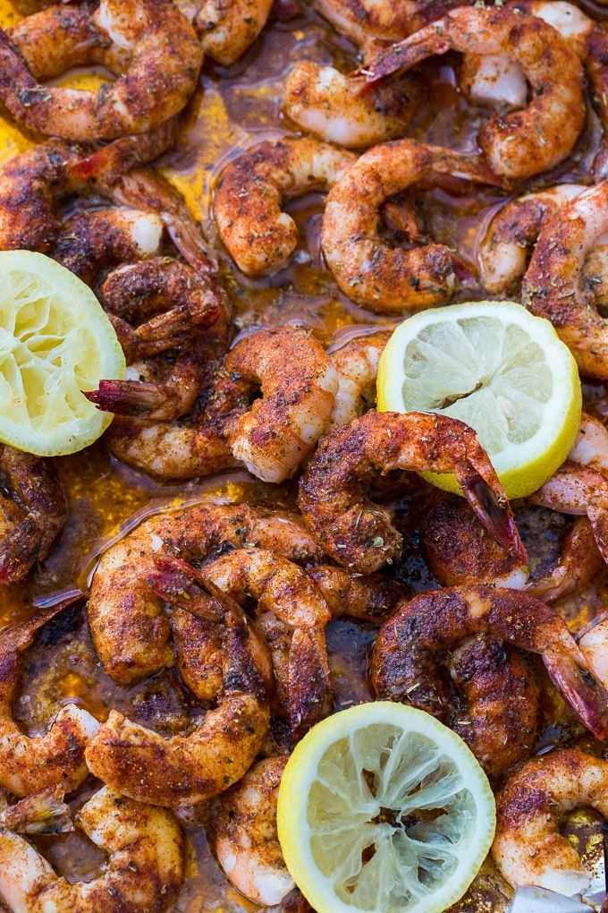 Buttery Broiled Shrimp recipe