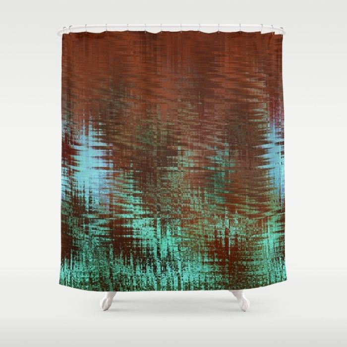 Southwestern shower curtain