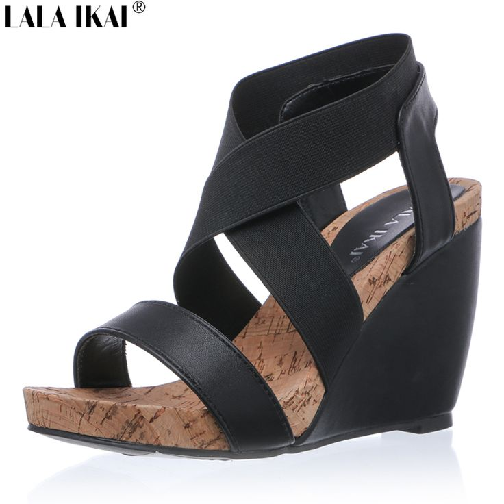 Cheap wedge sandals, Buy Quality womens wedge sandals directly from China strap shoes Suppliers: LALA IKAI Summer Women Wedge Sandals Cool Comfortable Bohemian Fashion Ladies High Heels Platform Buckle Strap Shoes 040F0925