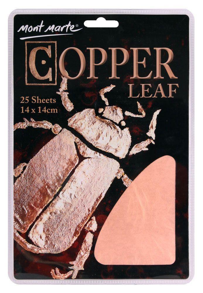 Art Shed Online - Mont Marte Copper Leaf 14x14cm 25 sheet, $5.95 (http://www.artshedonline.com.au/mont-marte-copper-leaf-14x14cm-25-sheet/)