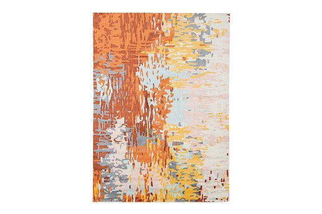 Belara Medium Rug by Ashley HomeStore, Multi, Polyester (100 %)