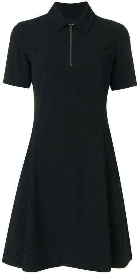 Kenzo fit and flare polo dress