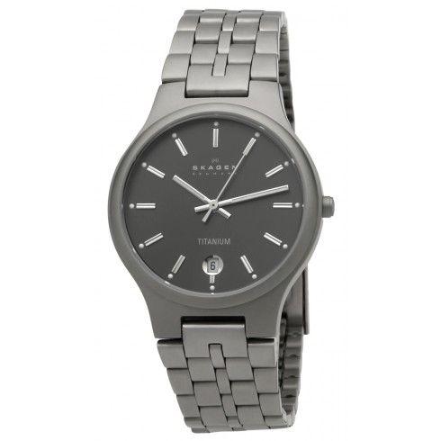 Skagen Titanium Links Men's Watch 105LTX