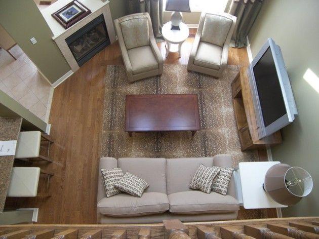 Güzelce Dekore Edilmiş 21 Küçük Oturma Odası
