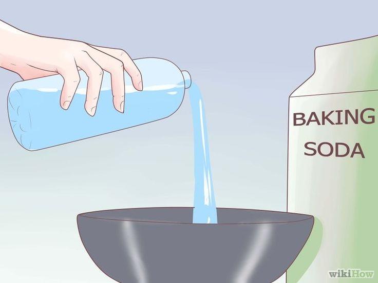 Rimuovere spina by bicarbonato o vinavil