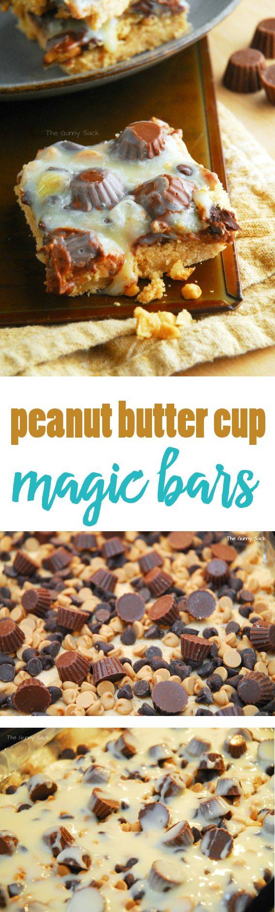 Peanut Butter Cup Magic Bars Recipe