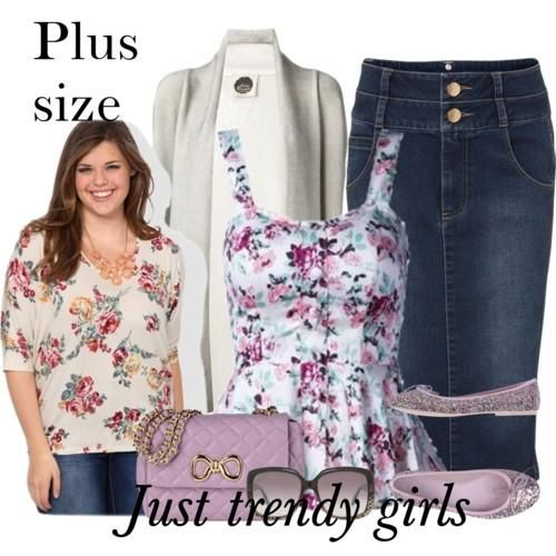 Plus size fashion clothing for woman   Just Trendy Girls