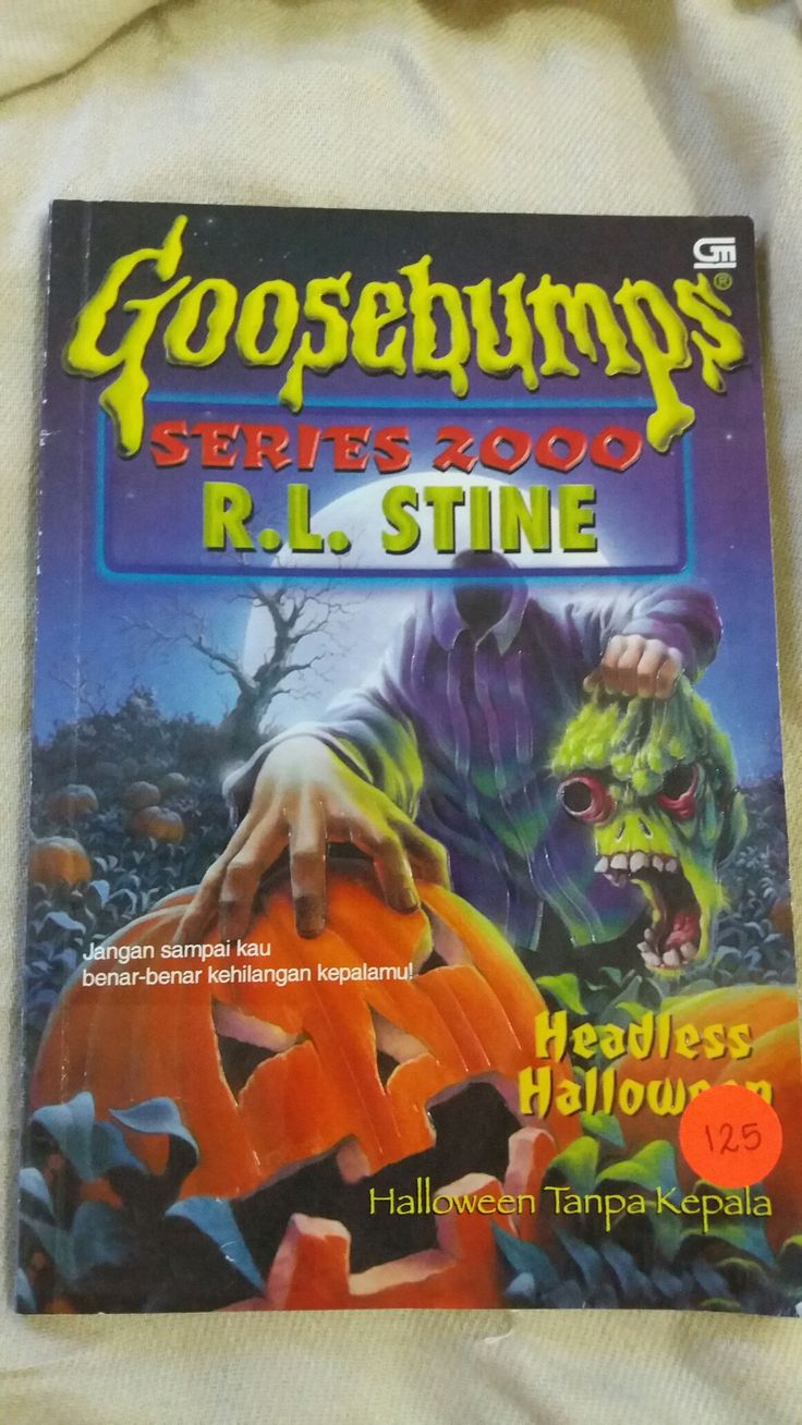 GOOSEBUMPS Headless Halloween ✏ R. L. Stine