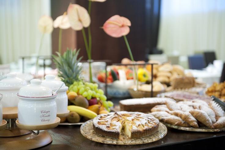 our buffet breakfast...