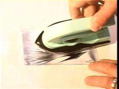 Demostración de la pintura encáustica al agua Cuní - YouTube