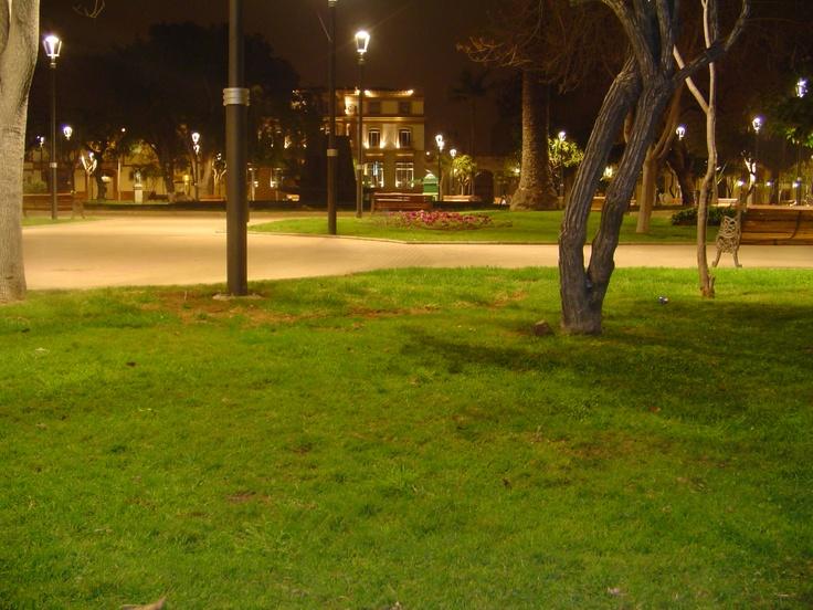 Plaza de Armas de La Serena. Foto de Javier Muñoz Salinas.