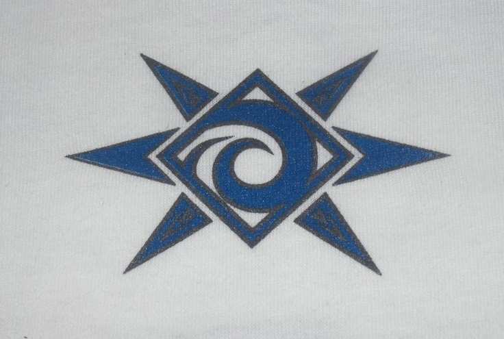 Our Sun & Surf logo. Trademarked by Fathom Wear®