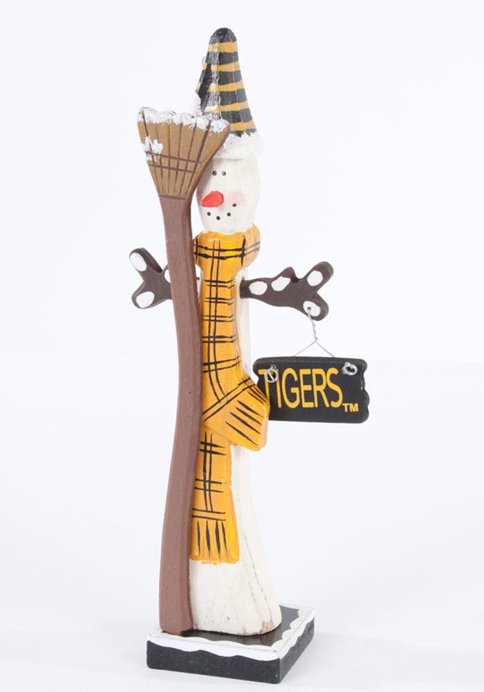 Missouri Tigers Wooden Snowman