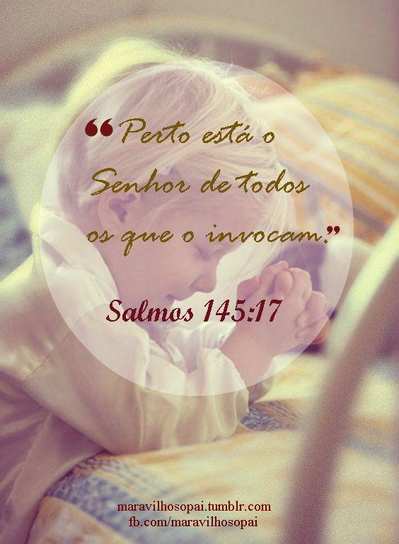 psalms, perto está o Senhor de todos o que o invocam,