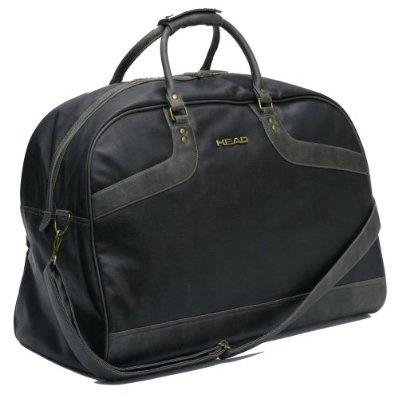 Head Retro Large Holdall Travel Luggage Gym Sports Bag - Dark Brown £29.95