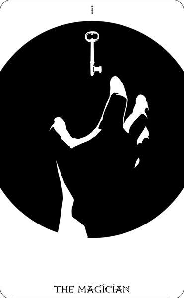 The Magician - Robert Scott — The Equinox Tarot -If you love Tarot, visit me at www.WhiteRabbitTarot.com
