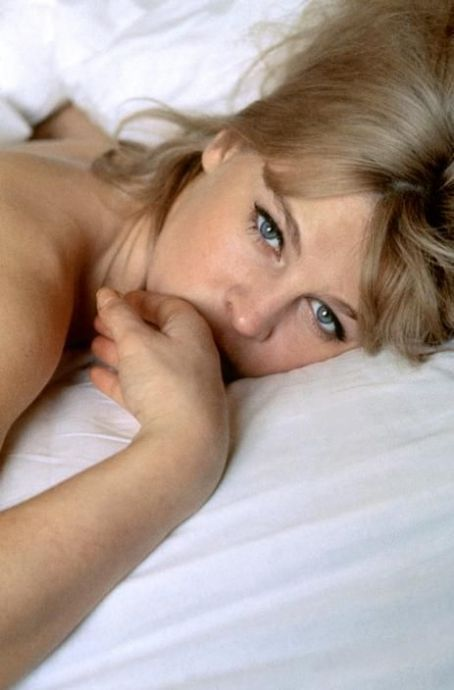 Julie Christie, ca. 1966.  She was about a lot more than lounging in beds looking sexy.