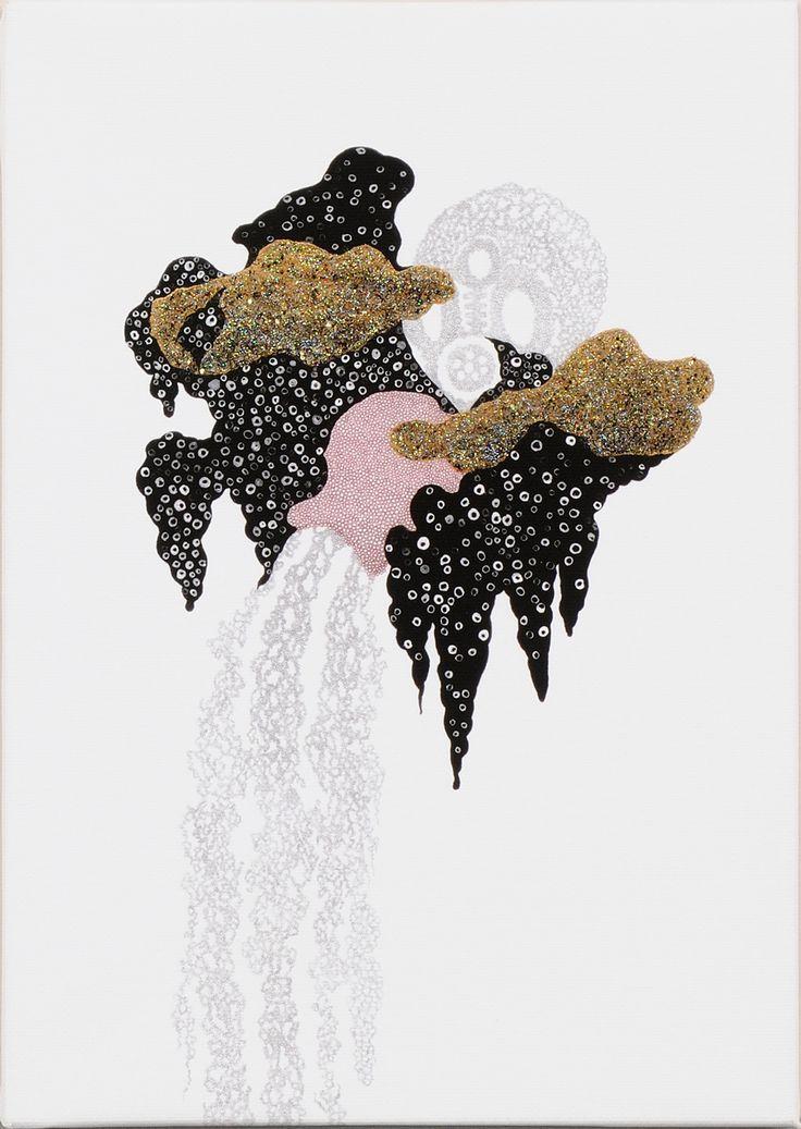 雲間甕垂らし / Tomoaki TARUTANI #ART #Contemporary ART #POP ART #Mandala #曼荼羅