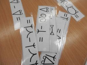 Príklady na sčítanie a odčítanie.