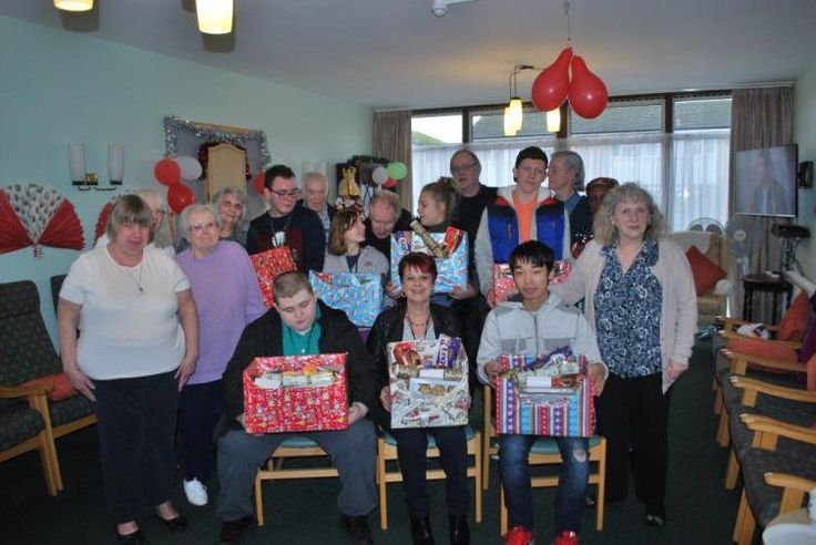 Havering College students deliver an early Christmas treat