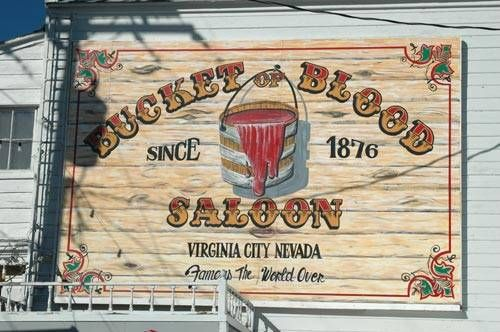 Bucket of Blood Saloon, Virginia City, Nevada. saloons in virginia city nevada, images - Google Search