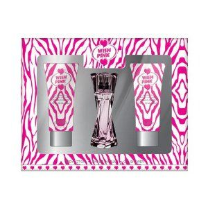 Wish Pink - Mini Gift Set, with Shower Gel, Body Lotion, and Perfume. Impression of Victoria's Secret Pink - All My Heart. by PREFERRED FRAGRANCE. $9.99. Wish Pink - SHOWER GEL 1.65 FL OZ & EAU DE TOILETTE 0.5 FL OZ & BODY LOTION 1.65 FL OZ By PREFERRED FRAGRANCE