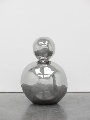 Gary Hume, Neptune, 2012, Stainless steel 60 x 49 x 17 1/2 in