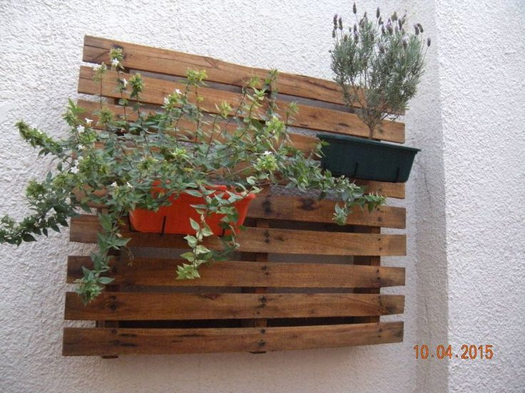 117 best images about diy on pinterest when you leave for Macetero vertical pallet