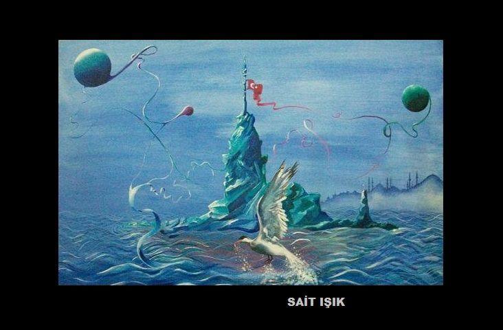 İSTANBULDA AŞK-AKRİLİK