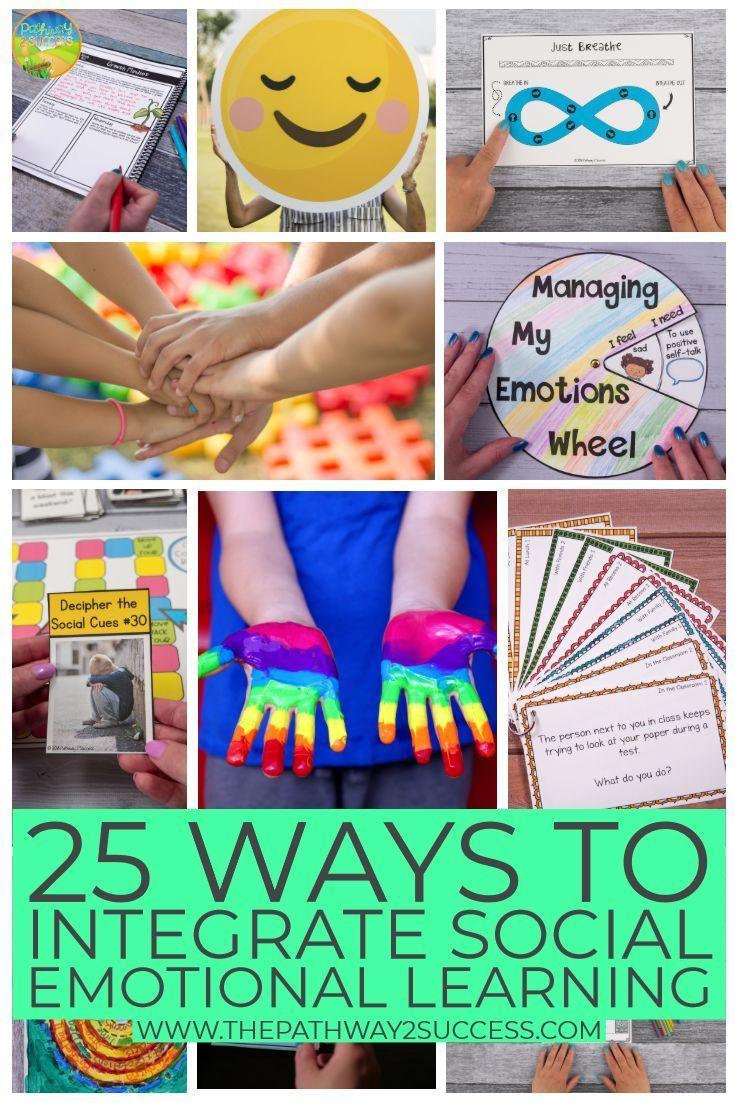 25 Ways to Integrate Social Emotional Learning | Preschool ...