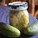 Pikantna salatka z ogorkow gruntowych