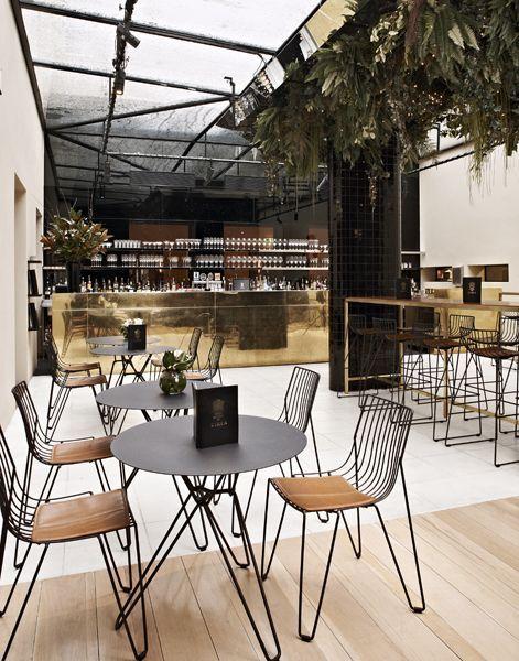 Restaurant interior design inspiration byCOCOON.com #COCOON Dutch designer…