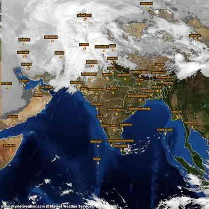 Latest INSAT satellite Image of India for 23 February 2015 at 11:00  http://www.skymetweather.com/insat/weather-satellite-images-of-india/11-00