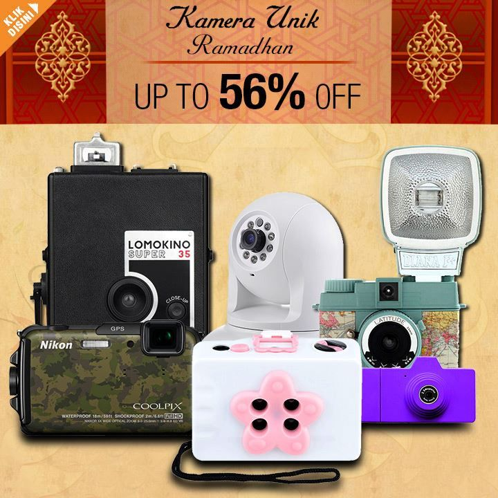 Lomo Camera Discount up to 50% off.  For details: http://www.giladiskon.com