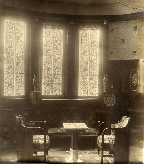 Art Nouveau. Schiffer Villa, 1910 Art nouveau