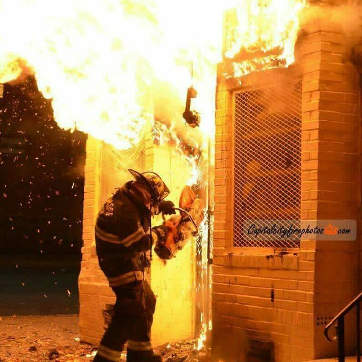 A little forcible entry with the K12. Looks a little warm ...