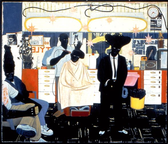 Kerry James Marshall, De Style, 1993