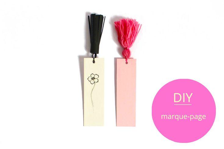 DIY marque-page à pompon / DIY marque-page original / réaliser un pompon diy / tassel bookmarks DIY / tutorial easy DIY / bookmark tassel diy / bookmark do it yourself / Celine Lunakim