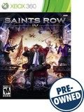 Saints Row IV - PRE-Owned - Xbox 360, PRE OWNED