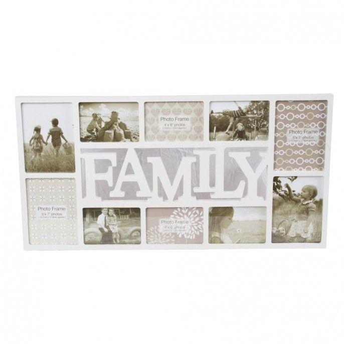 VIntage Maison Family Multi Frame - Large | Poundstretcher | Poundstretcher  | Home <3 | Pinterest | Vintage and Walls