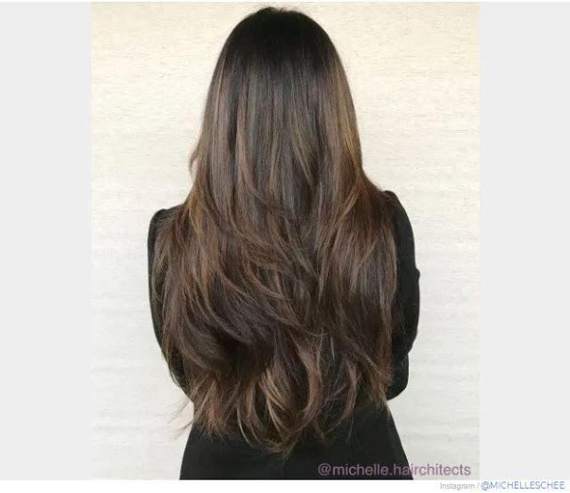 30 Model Rambut Panjang Wanita Lurus Bergelombang Terkeren 2020 In 2020 Hair Today Hair Styles Long Hair Styles