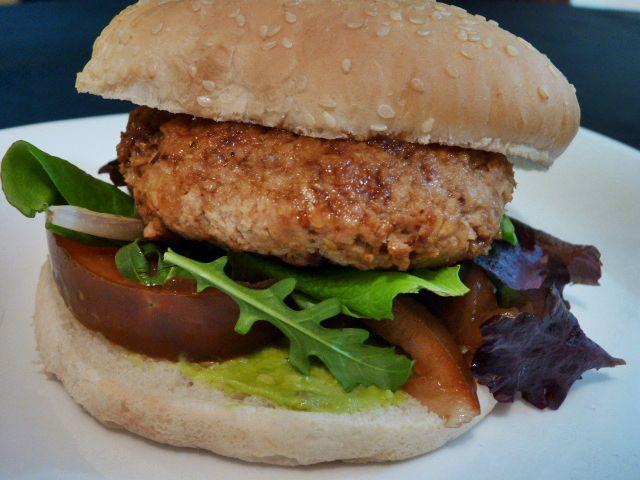 Hamburguesa vegana en 10 min