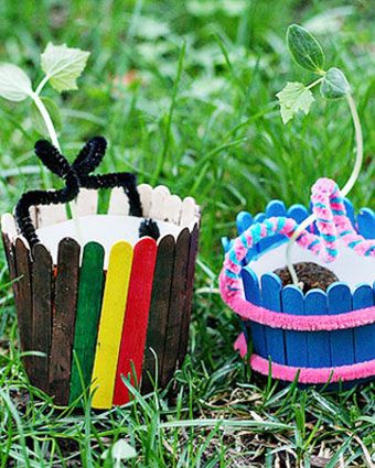 43 best easter images on pinterest at walmart easter food and this colorful easter mini basket planter craft is perfect for kids of all ages negle Image collections