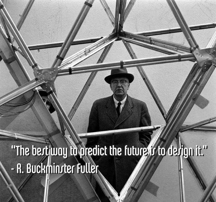 R. Buckminster Fuller / American neo-futuristic architect