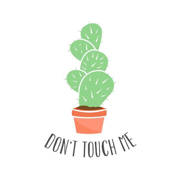 cactus art print | Tumblr | Dibujos de cactus | Pinterest