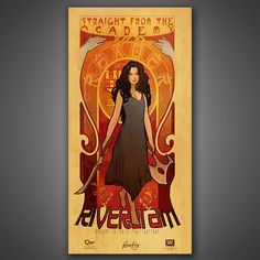 River Tam Poster #firefly #serenity #shiny #mal #captain #malcolm #reynolds #browncoat #joss #whedon #josswhedon #whedonverse #poster #print #art #river