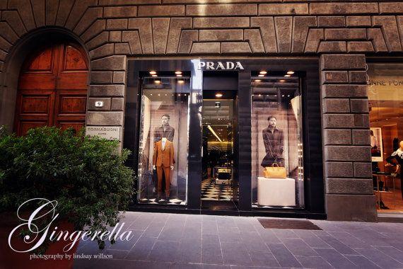 Prada, Fashion, Florence, Italy, Etsy, Photography