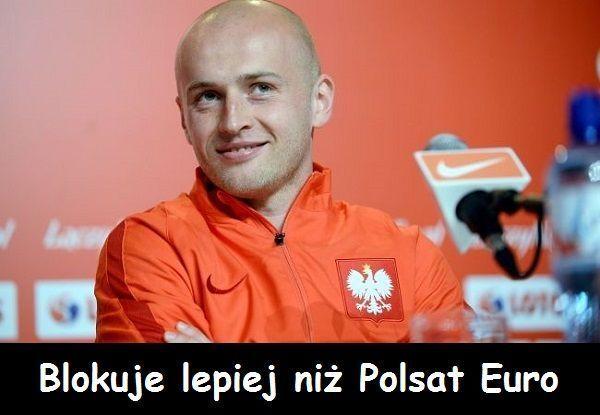 Śmieszne memy po meczach Polski na Mistrzostwach Europy 2016 • Michał Pazdan blokuje lepiej niż Polsat Euro • Wejdź i zobacz mem >> #pazdan #euro #euro2016 #polska #memy #football #soccer #sports #pilkanozna