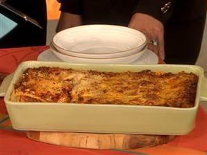 The Pioneer Woman's lasagna